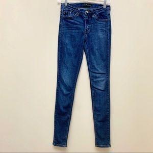 Kancan Dark Wash Skinny Jeans Sz 25